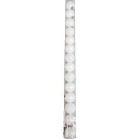 Műanyag gömb tél fehér 3cm 14db-os