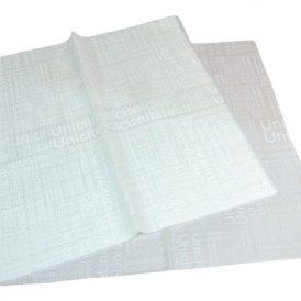 Csomagoló fólia újság mintás fehér 58x58cm 20db-os