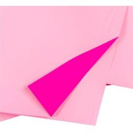 Csomagoló fólia gyöngyház fuxia/rózsaszín 58x58cm 20db-os
