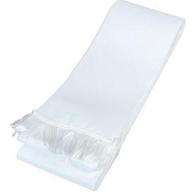 Koszorú szalag 10x220cm fehér-fehér 10db/csom (db ár)