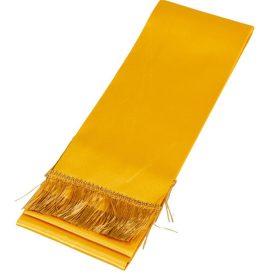 Koszorú szalag 10x220cm arany-arany 2db/csom (db ár)