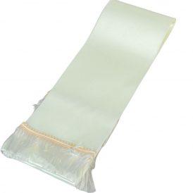 Koszorú szalag 10x220cm ekrü-fehér 2db/csom (db ár)