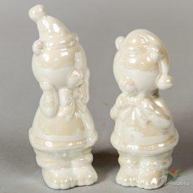 Porcelán maci fényes  M9cm
