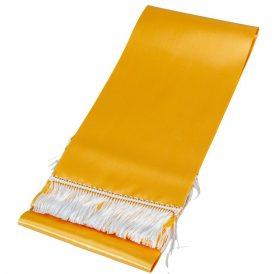 Koszorú szalag 12x220cm arany-fehér 2db/csom (db ár)