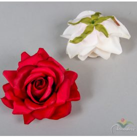 Nyílt rózsa virágfej exklúzív 6db/szín/csom Egész csomagra rendelhető!