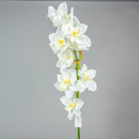 Orchidea ág 10v. M90cm 8db/#