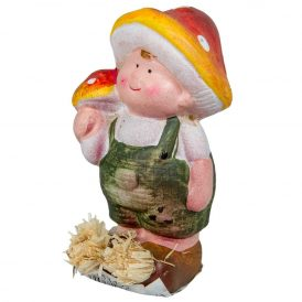 Gomba kalapos fiú ker.  M11cm