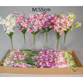 Orchidea csokor 7ágú M55cm 36db/#