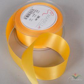 Szatén szalag sárga 40mmx25m