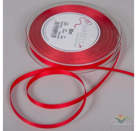 Textil szalag Economy piros 10mmx50m