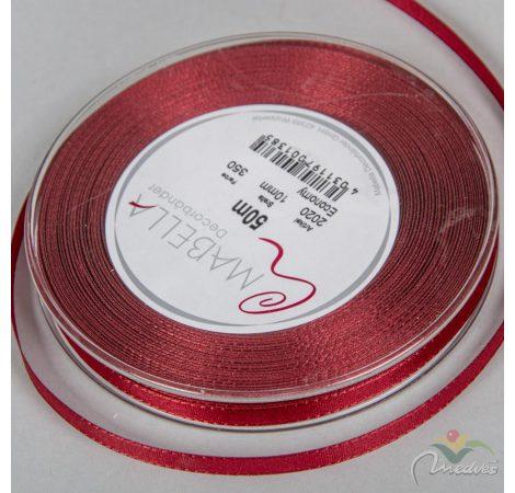 Textil szalag economy bordó 10mmx50m