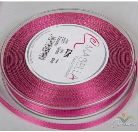 Textil szalag economy sötét rózsaszín 10mmx50m
