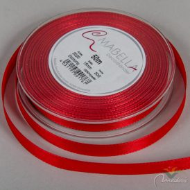 Textil szalag economy piros 15mm*50m