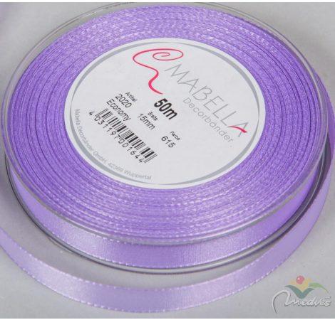 Textil szalag economy világos lila 15mmx50m