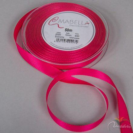 Textil szalag Economy pink 15mmx50m