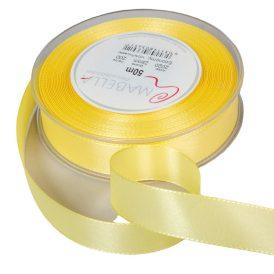 Textil szalag Economy pasztel sárga 25mmx50m