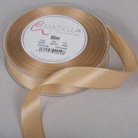 Textil szalag Economy bézs 25mmx50m