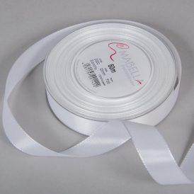Textil szalag Economy fehér 25mmx50m