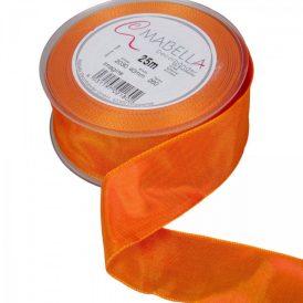 Textil szalag hagyományos drótos narancs 40mmx25m