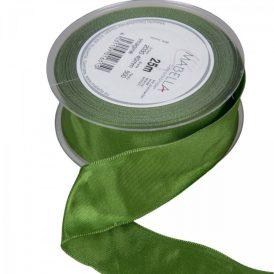 Textil szalag hagyományos drótos sötét zöld 40mmx25m