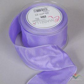 Textil szalag hagyományos drótos lila 60mmx25m