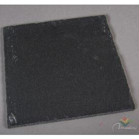 Kő tálca fekete 25x25cm