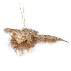 Akasztós repülő bagoly barna 25cm