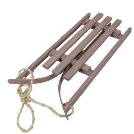 Fa szánkó (összecsukható) szürke M11xx21x51cm