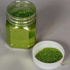 Glitter por zöld115gr