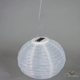 LED-es napelemes textil lámpás 30cm