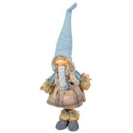 Textil gyerek álló krém-kék M50cm