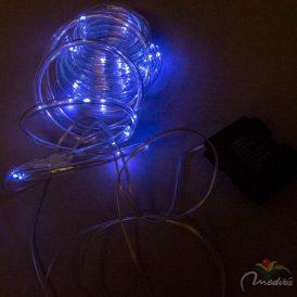 5 méteres fénykábel programos elemes (elem nélkül) hideg