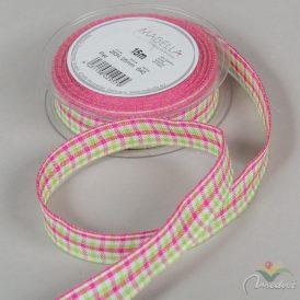 Textil szalag PIET kockás 25mm x 15m