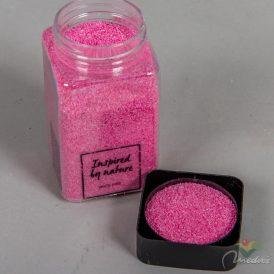 Dekor homok 0,5mm 600gr pink
