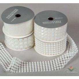 Műanyag formás szalag fehér 4x270cm