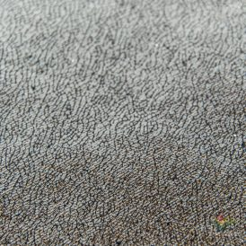 Repedezett bőr hatású tekercs ezüst 28x270cm