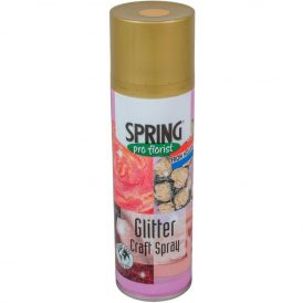 Glitter spray arany 300mm