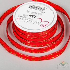 Karácsonyi textil szalag ALEK15mm*7,5m