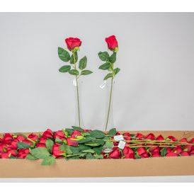 Bársony rózsabimbó szálas 72db/karton Egész/fél kartonra rendelhető!
