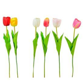 Tulipán szálas M52cm 48db/#