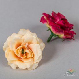 Rózsa virágfej mini 50db/szín/csom  Egész csomagra rendelhető!