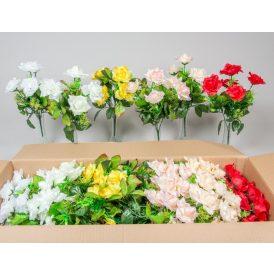 Rózsa csokor szatén 5v. 24db/karton Egész/fél kartonra rendelhető!