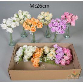 Polifoam rózsa 10v. 12db/karton Egész/fél kartonra rendelhető!