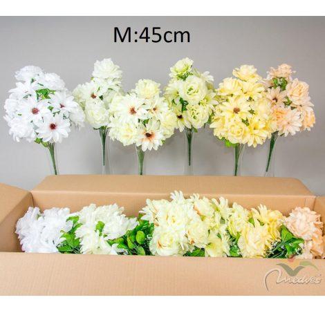 Rózsa,dália csokor 14v. 12db/karton Egész/fél kartonra rendelhető!