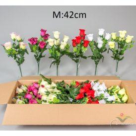 Rózsa csokor 5v. 24db/karton Egész/fél kartonra rendelhető!