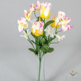Rózsabimbó, orchidea csokor 6v. 24db/karton Egész/fél kartonra rendelhető!
