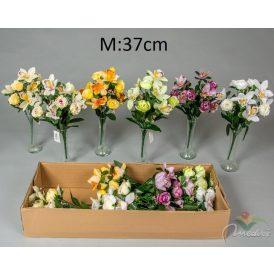 Rózsa,orchidea csokor 11v. 12db/karton Egész/fél kartonra rendelhető!