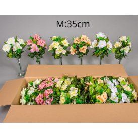 Rózsa,asztromélia csokor 5v. 24db/karton Egész/fél kartonra rendelhető!