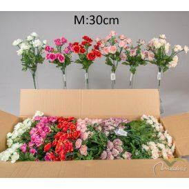 Rózsa csokor 14v. M30cm 36db/#