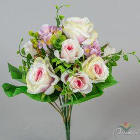 Rózsa hortenzia csokor 11v. 12db/karton Egész/fél kartonra rendelhető!